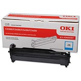Image of Oki 43460207 Cyan Laser Drum Unit