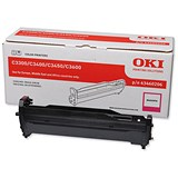 Image of Oki 43460206 Magenta Laser Drum Unit