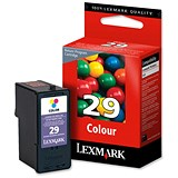 Image of Lexmark 29 Colour Inkjet Cartridge