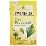 Image of Twinings Infusion Peppermint Tea Bags / Individually-wrapped / Pack of 20