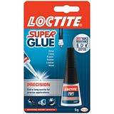 Image of Loctite Super Glue / Precision Bottle with Extra-long Nozzle / 5g
