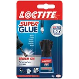 Image of Loctite Super Glue / Easy Brush-in / Anti-spill safety Bottle / 5g
