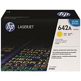 Image of HP 642A Yellow Laser Toner Cartridge