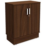 Image of Adroit Virtuoso Low Storage Unit - Dark Walnut