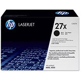 Image of HP 27X Black Laser Toner Cartridge