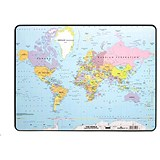 Image of Durable World Map Desk Mat