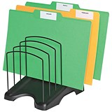 Step File Organiser with Six Sections