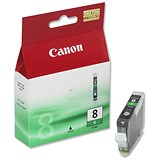 Image of Canon CLI-8 Green Inkjet Cartridge
