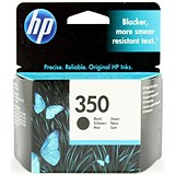 Image of HP 350 Black Ink Cartridge