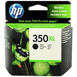 Image of HP 350XL Black Ink Cartridge