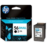 Image of HP 56 Black Ink Cartridge - Low Capacity
