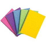 Sidebound Notebook / A4 / Ruled / 120 Pages / Colour Assortment C / Pack of 10