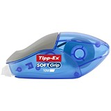 Image of Tipp-Ex Soft Grip Correction Tape Roller / 5mmx10m / Pack of 10