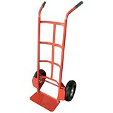 Image of Heavy/duty Hand Trolley / 200kg Capacity / Red
