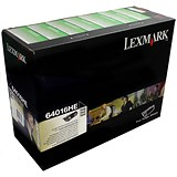 Image of Lexmark 64016HE High Yield Black Laser Toner Cartridge