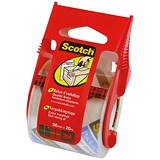 Scotch Packaging Tape on Hand Dispenser / 50mmx20m / Clear