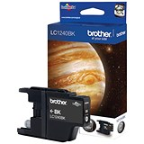 Image of Brother LC1220BK Black Inkjet Cartridge