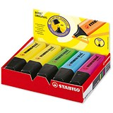 Image of Stabilo Boss Highlighters / Assorted Colours / Pack of 10