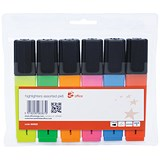 Image of 5 Star Highlighters / Assorted Colours / Pack of 6