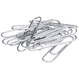 5 Star Large Metal Paperclips - 33mm / Plain / Pack of 1000