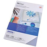 GBC Superclear Report Covers / 250 micron / Clear / A4 / Pack of 50