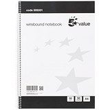 Everyday Wirebound Notebook / A4 / Ruled / 100 Pages / Pack of 10