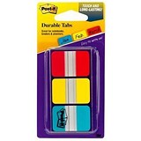 Image of Post-it Strong Index / Red, Yellow & Blue / Pack of 66