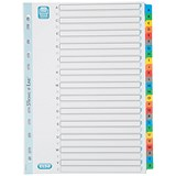 Image of Elba Subject Dividers / A-Z / Multicoloured Tabs / A4 / White