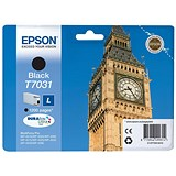 Image of Epson T7031 Black Inkjet Cartridge