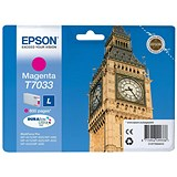 Image of Epson T7033 Magenta Inkjet Cartridge