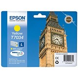 Image of Epson T7034 Yellow Inkjet Cartridge