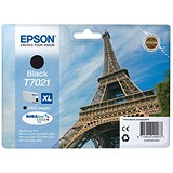 Image of Epson T7021 XL High Capacity Black Inkjet Cartridge