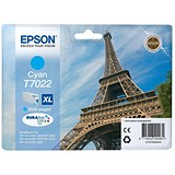 Image of Epson T7022 XL High Capacity Cyan Inkjet Cartridge