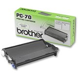 Brother PC70 Black Fax Cassette