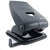 Image of Rapesco 835P Heavy-duty 2-Hole Punch / Black / Punch capacity: 40 Sheets