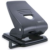Image of Rapesco 835M Heavy-duty 2-Hole Punch / Black / Punch capacity: 40 Sheets