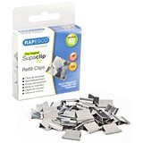 Rapesco Supaclip 40 Refill Clips / Stainless Steel / Pack of 50