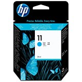 Image of HP 11 Cyan Ink Cartridge