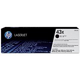 HP 43X Black Laser Toner Cartridge