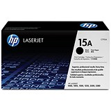 Image of HP 15A Black Laser Toner Cartridge