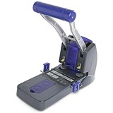 Image of Rapesco 2200 Heavy-duty 2-Hole Punch / Black / Punch capacity: 150 Sheets