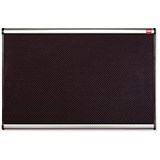 Image of Nobo Prestige Noticeboard / High-density Foam / Aluminium Trim / W1800xH1200mm / Black