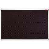Image of Nobo Prestige Noticeboard / High-density Foam / Aluminium Trim / W1200xH900mm / Black