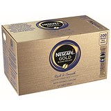 Image of Nescafe Gold Blend Instant Decaffeinated Coffee Granules / Stick Sachets / Pack of 200