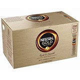 Image of Nescafe Gold Blend Instant Coffee Granules / Stick Sachets / Pack of 200
