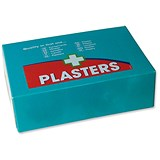 Image of Wallace Cameron Pilferproof Plaster Refill / Twist & Open / Blue / Pack of 60