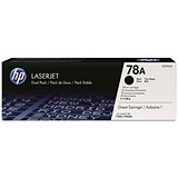 Image of HP 78A Black Laser Toner Cartridge (Twin Pack)