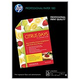 Image of HP A3 Superior Double-Sided Glossy Inkjet Photo Paper / White / 180gsm / Pack of 50