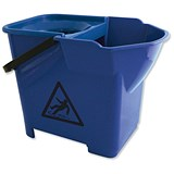 Image of Bentley Heavy Duty Mop Bucket / 16 Litre / Blue