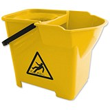 Bentley Heavy Duty Mop Bucket / 16 Litre / Yellow